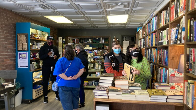 Ilovebooksorg launched first event at the Read Spotted Newt in Hazard, KY