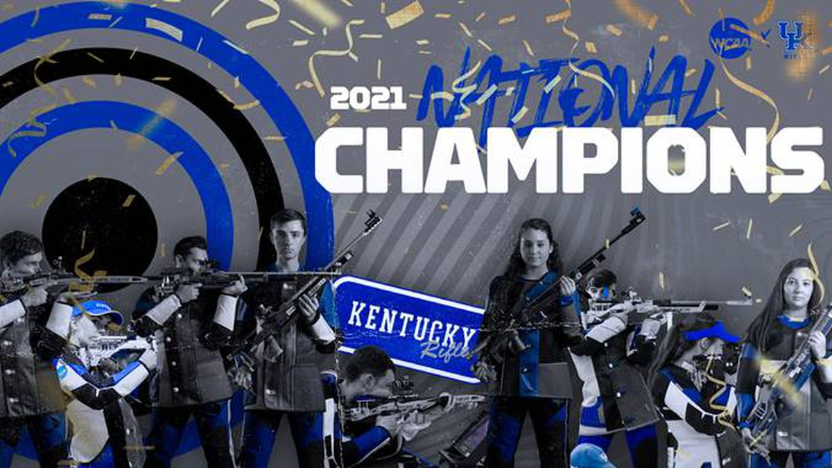 Kentucky and coach Harry Mullins earned its third national rifle title on Saturday.