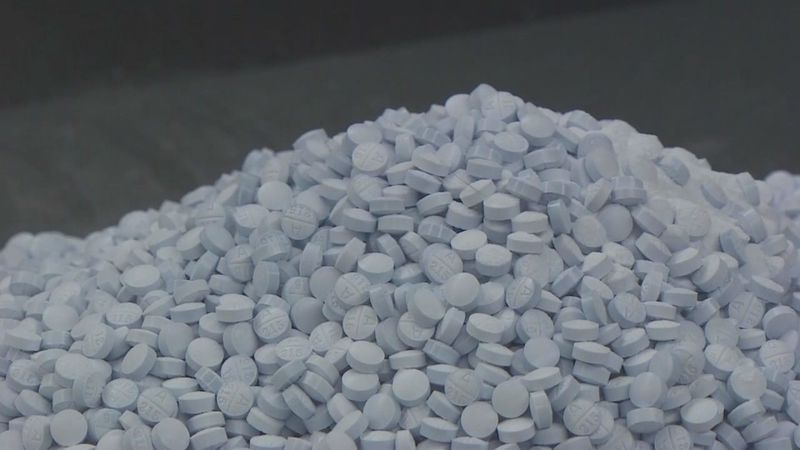 Officials say fentanyl has been a major cause in overdose deaths this year.