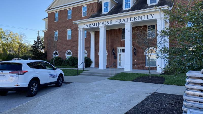 According to the UK Police Department, officers were called to the Farm House Fraternity around...