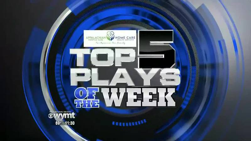 Top Five Plays Week 5 2021 - September 20, 2021