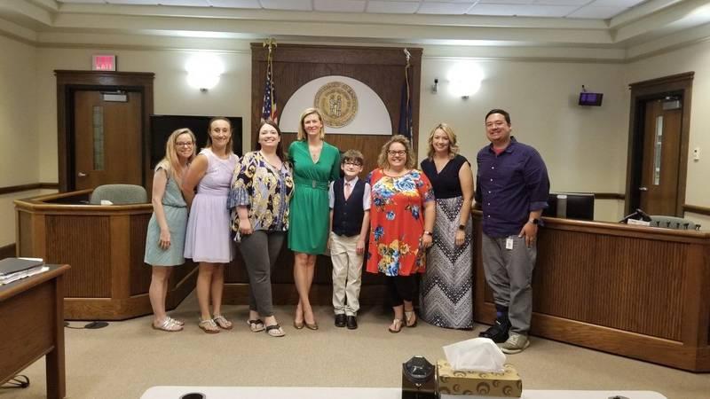 Family shares story of adoption (WBKO)