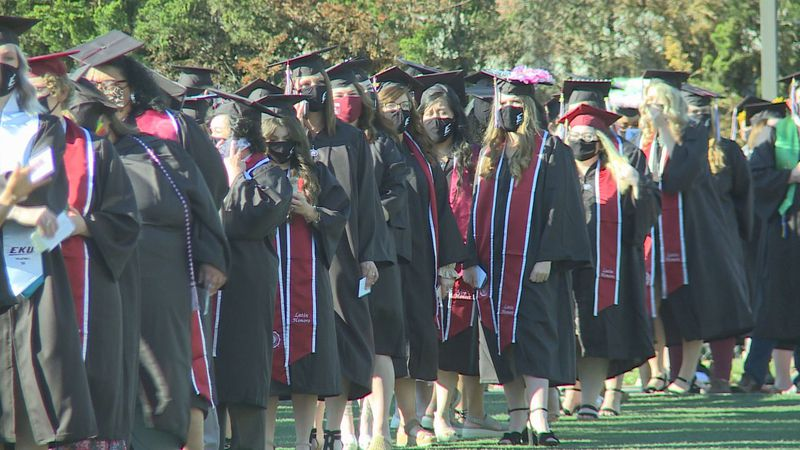EKU reports 38% of the class of 2021 are first in their family to get a higher education degree.