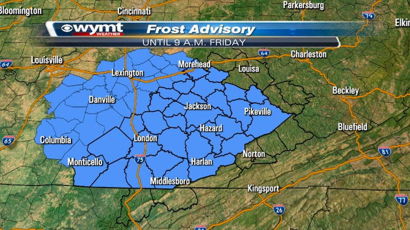 Frost Advisory 4/15