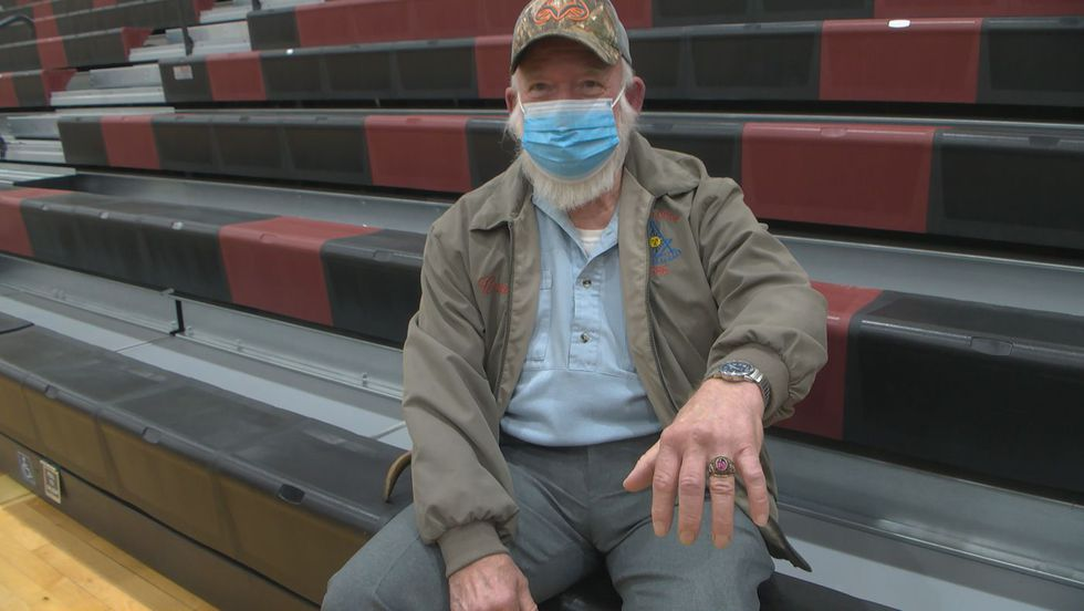 A 1971 Bullitt Central High School class ring has been returned to it's original owner after he...