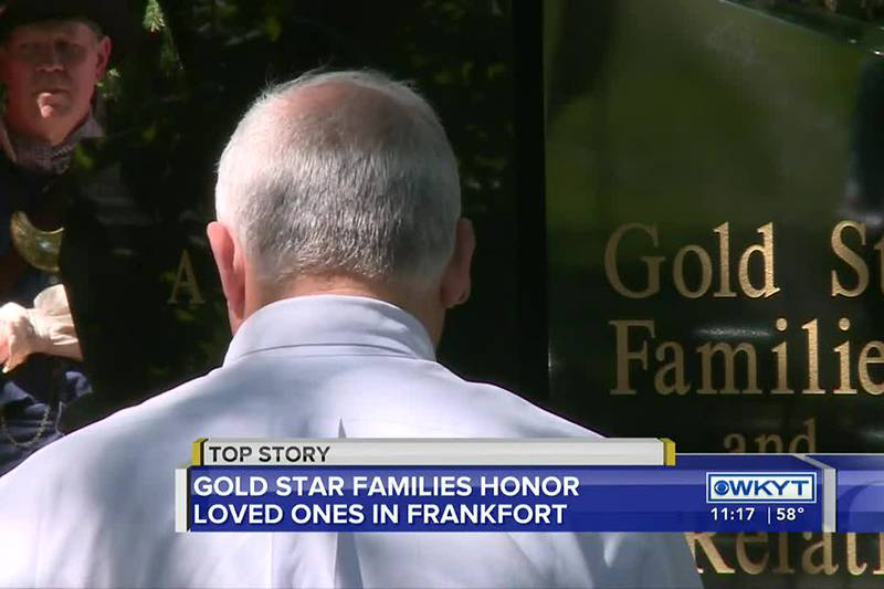 Gold Star families members were recognized in a Mother's and Family's Day Commemoration...