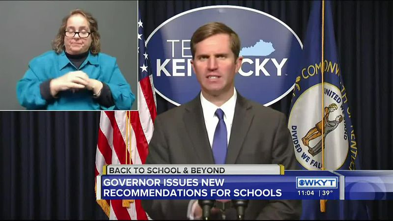 Gov. Beshear signs executive order for in-person learning recommendations