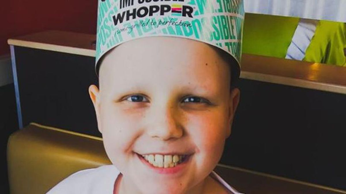 """Carter Willett, nicknamed """"Courageous Carter,"""" asked for cards for his tenth..."""