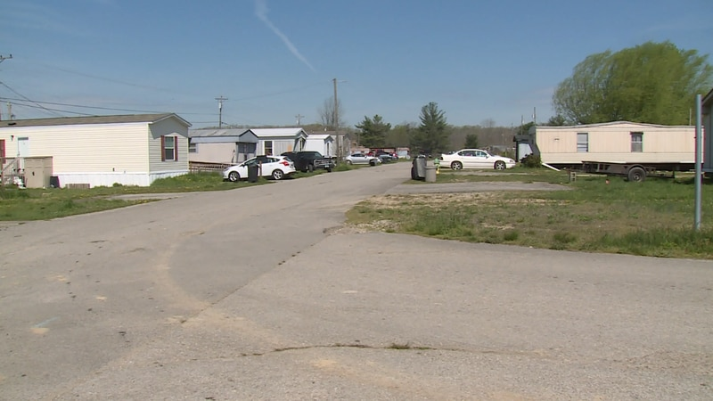 People living in the North Fork Mobile Home Park say they were given short notice to relocate.