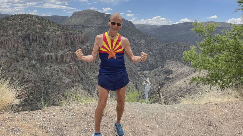 Stan Cottrell is from Hart County and running from LA to DC.