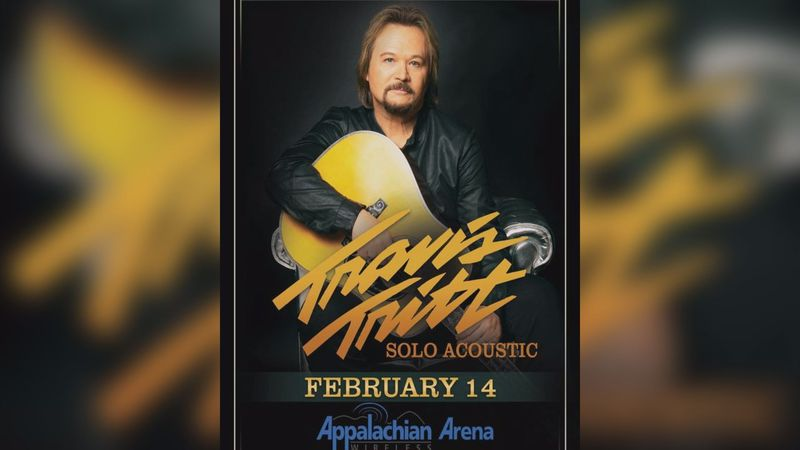 Travis Tritt is bringing an acoustic sound to the Appalachian Wireless Arena for its first...