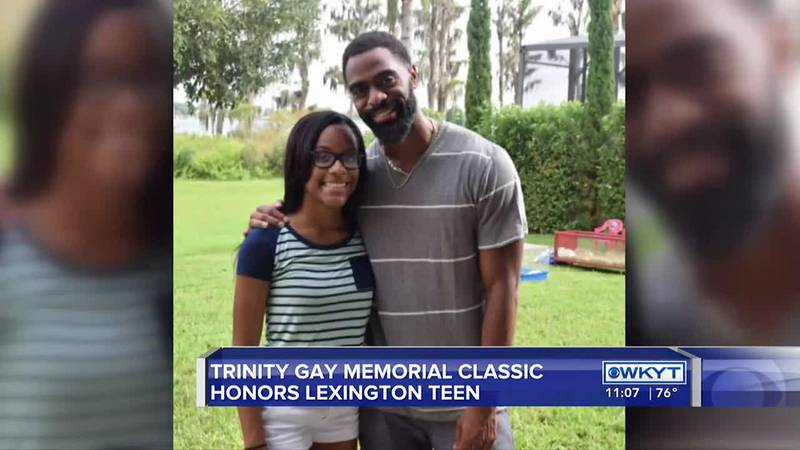 The track and field community came together Saturday to remember Lexington teenager Trinity Gay...