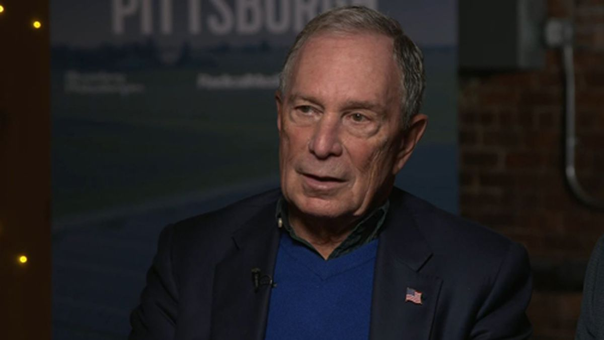 Michael Bloomberg has filed to run in Alabama's Democratic primary, but he hasn't decided whether he will actually run. (Source: CNN/Pool)