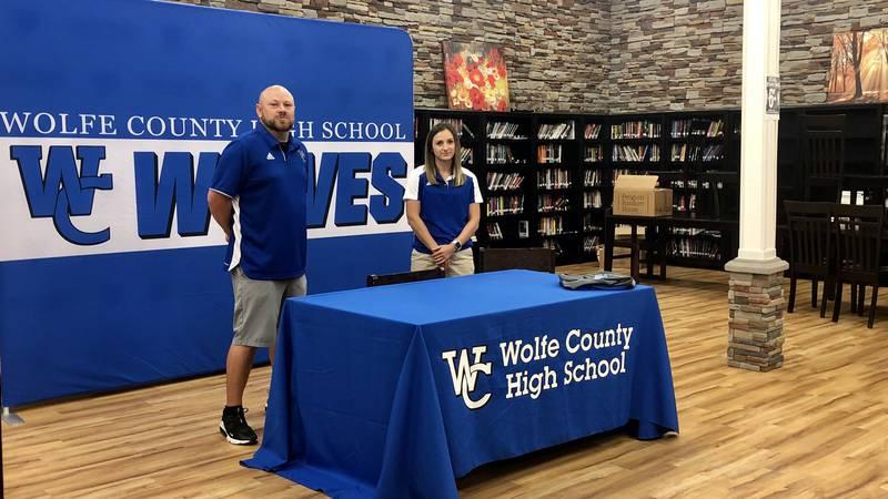 Wolfe County introduces Brandi Howard as new head softball coach.