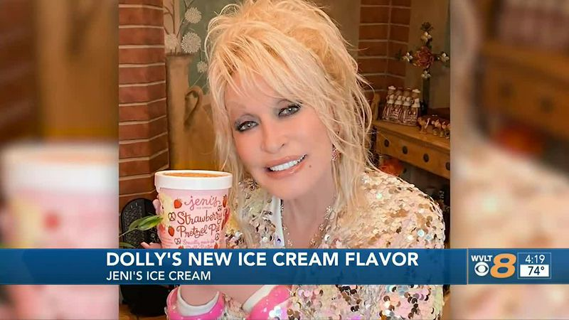 Dolly new ice cream flavor