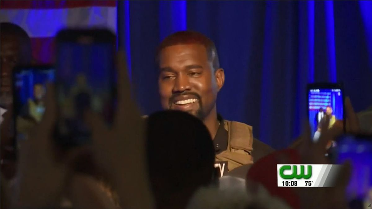Rapper and businessman Kanye West has filed paperwork to become a U.S. presidential candidate in West Virginia.