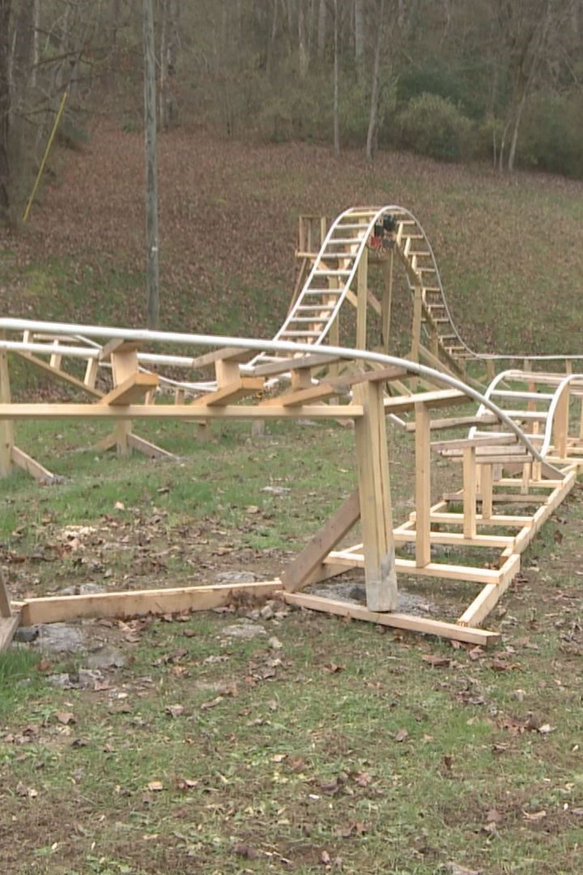 View How To Build A Backyard Roller Coaster PNG - HomeLooker