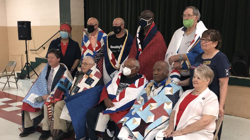 Eight Kentucky veterans were honored for their service.