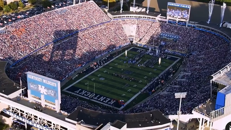 UK Athletics plans to open Kroger Field to full capacity this fall, beginning with UK's season...
