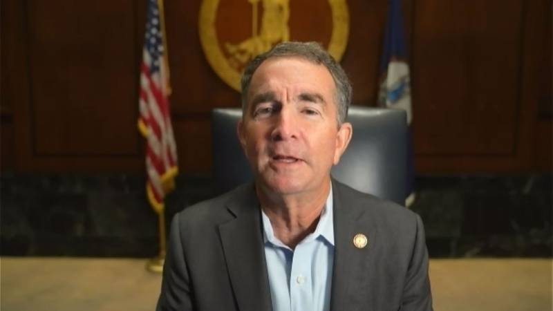 Gov. Ralph Northam speaks with WDBJ7 as the state of emergency he declared in march 2020 is set...