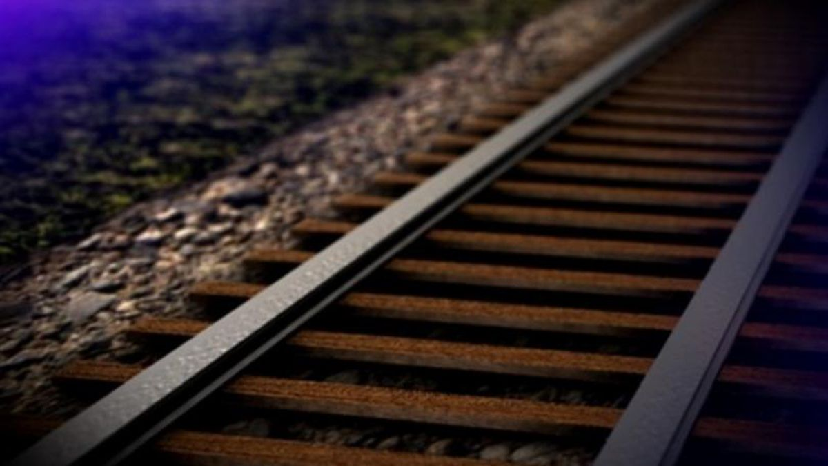 Investigators believe Brandon North, 38, was killed after a train hit him.