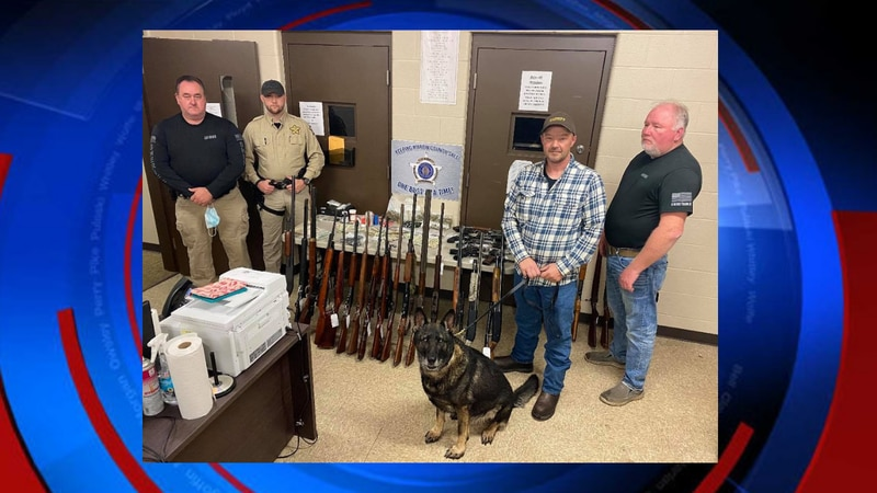 Deputies with the Martin County Sheriff's Office seized more than $10,000 in cash, 42 firearms,...