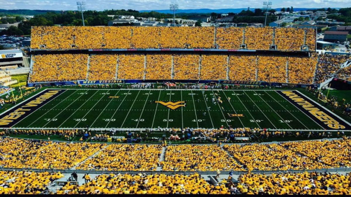 The West Virginia Mountaineers opened up their season against Eastern Kentucky without fans.