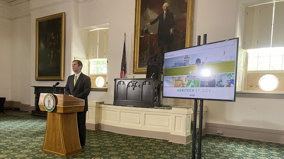 Gov. Andy Beshear announced Wednesday plans to build America's AgriTech capital in Kentucky.