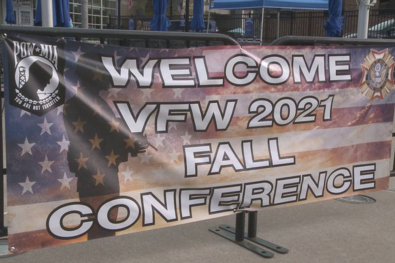 The VFW annual fall conference is being held Friday, Oct. 15 and Saturday, Oct. 16