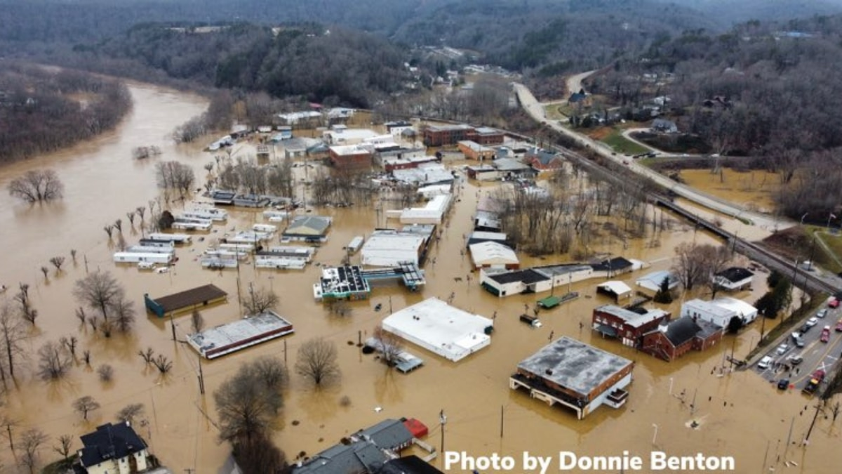 The City of Beattyville experienced severe flooding following heavy rain Sunday night into...