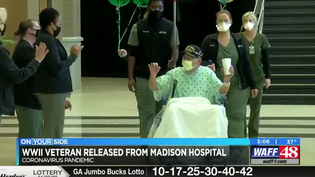 Major Wooten, a World War II veteran from Alabama, was released from the hospital on Tuesday...