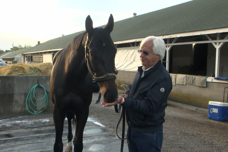 Bob Baffert and Medina Spirit