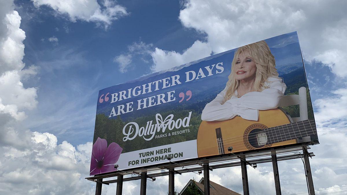Dolly Parton billboard