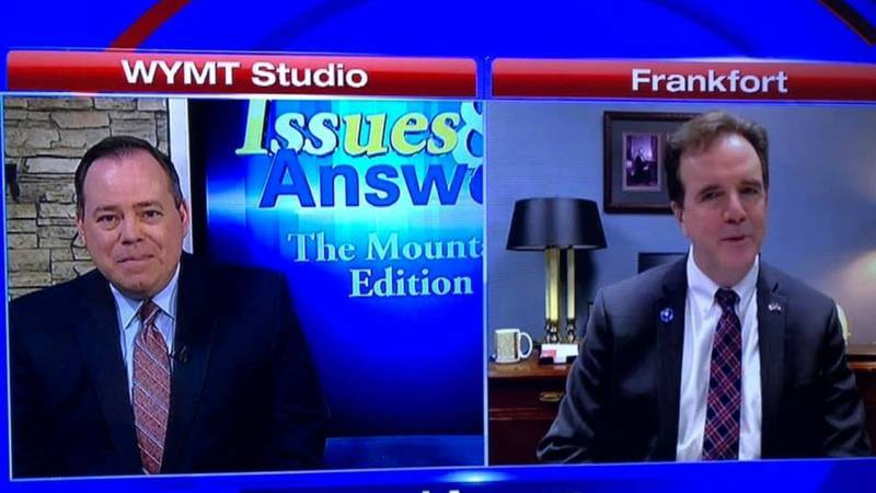 Mike Harmon was on this week's episode of Issues and Answers