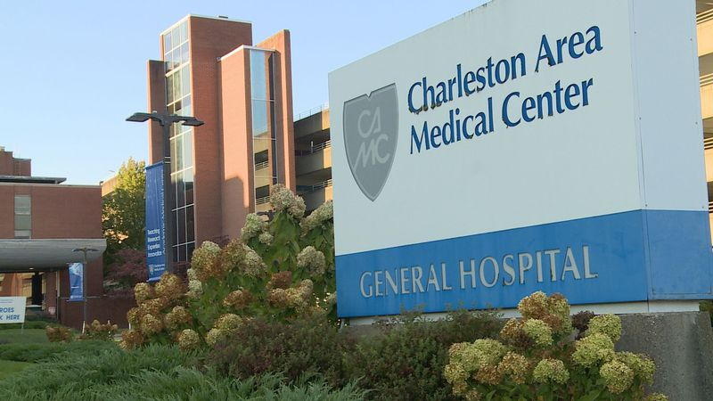 A hospital spokesperson says there are many different variables as to why they're at capacity.