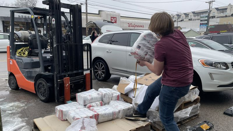 After the ice storm this week, people in Lexington are making sure they're stocked up on...