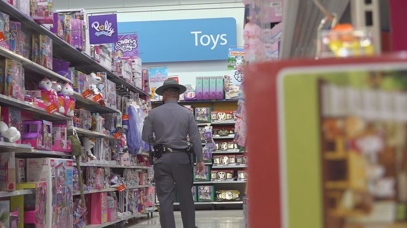 Kentucky State Police troopers from the Post 9 area continued the annual Shop With a Trooper...
