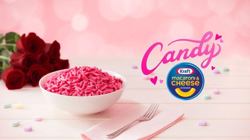 Kraft Candy Mac & Cheese