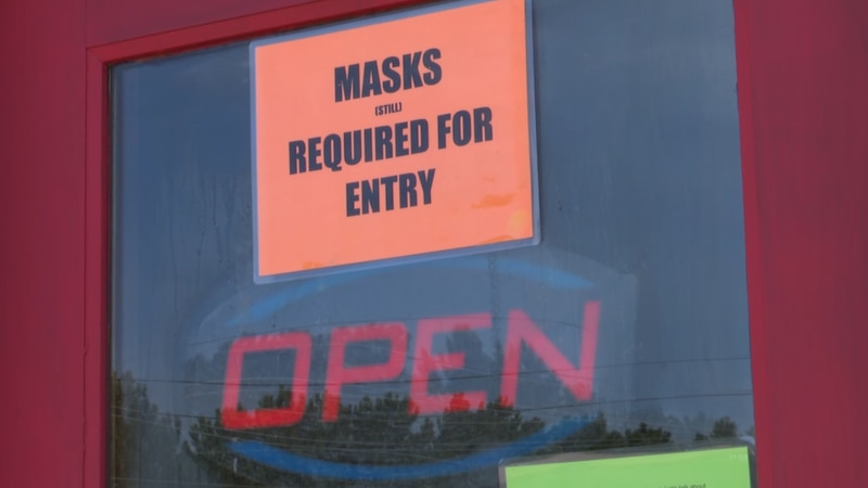 Small business owners will decide on mask policy.
