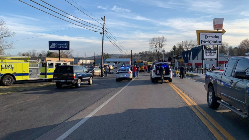 A crash involving a school bus happened Monday afternoon at the intersection of Hwy. 25W and...