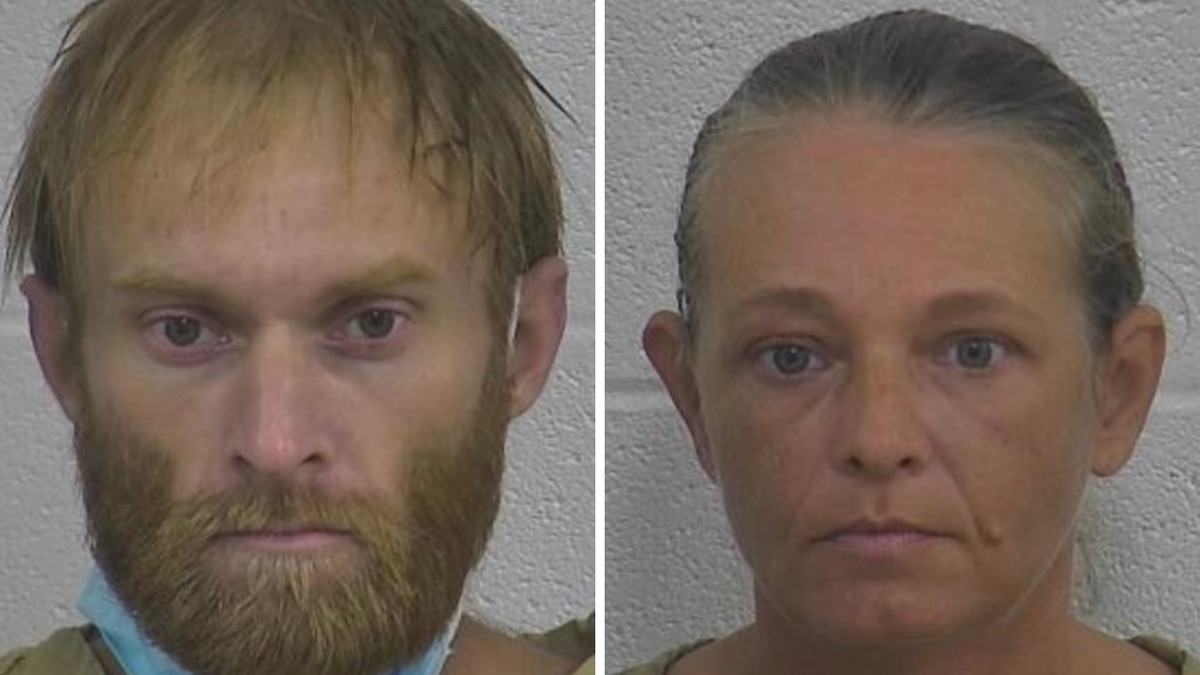 Jusing Wilburn (left) and Patricia Messer (right) were arrested on federal charges relating to...