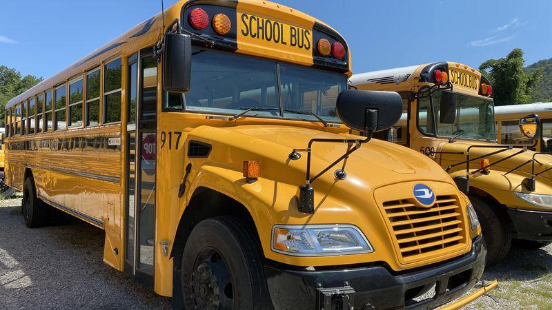 Floyd County school bus
