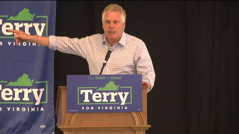 Terry McAuliffe at Charlottesville rally