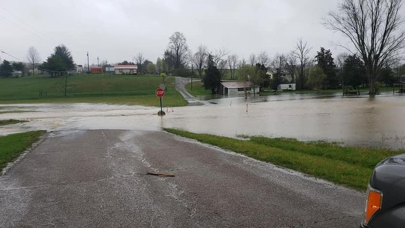 Old Hwy 63 in Speedwell across from the Lodge