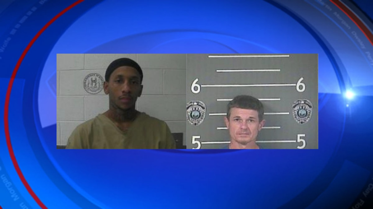 James Stacy and Frank London arrest