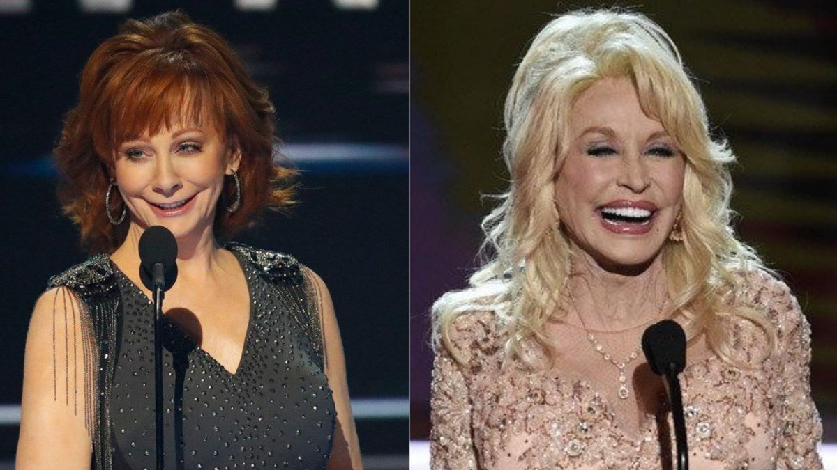 Dolly Parton revealed that she and Reba McEntire recorded a song together for Reba's next album.