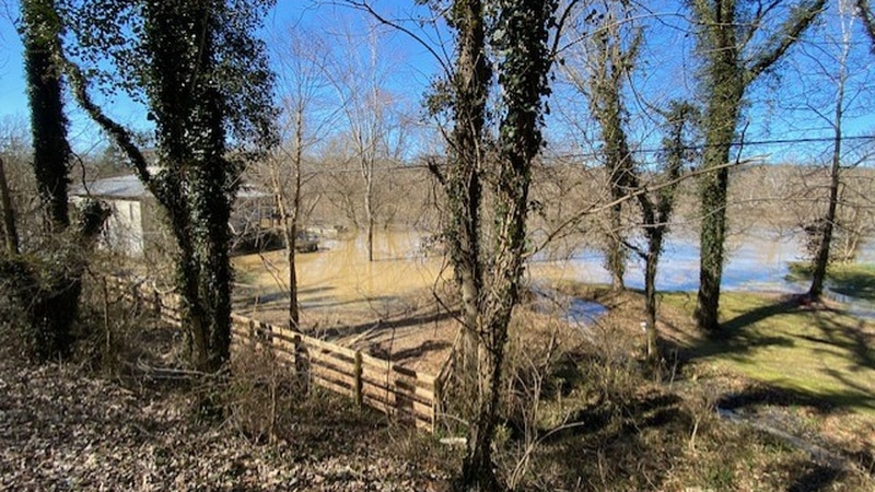 The Kentucky River is expected to crest in Woodford County Thursday evening. Along the river in...
