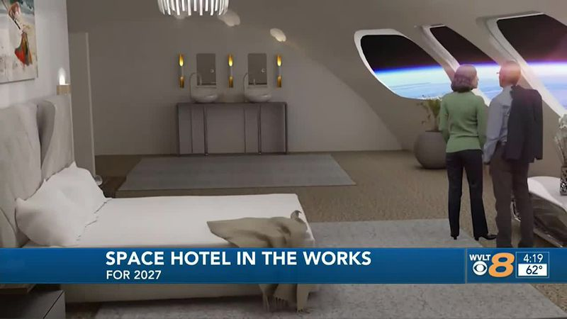 Space hotel in the works for 2027