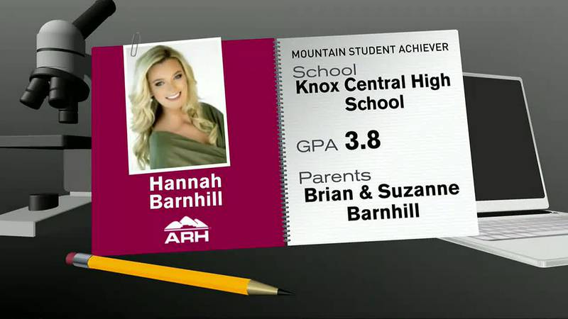 ARH Mountain Student Achiever Hannah Lea Barnhill - September 21, 2021