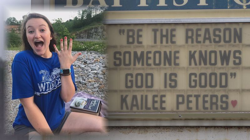 Kailee Peters' loved ones say she lived a faithful life, even through her battles with cancer,...